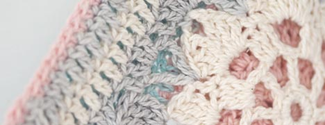 Crochet Pattern - Hint of Spring Potholder