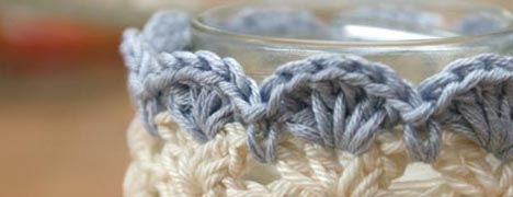 Crochet - Dressing up Jars