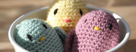 Crochet - Easter Chicks