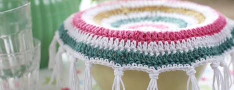 Crochet Pattern - Food Covers