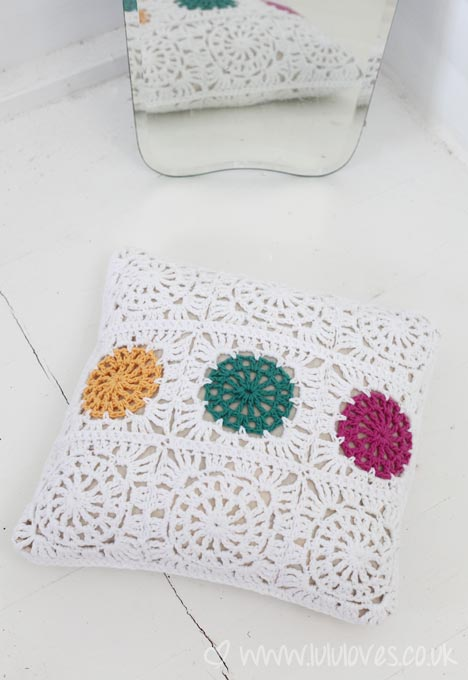 Crochet Cushion - Lululoves