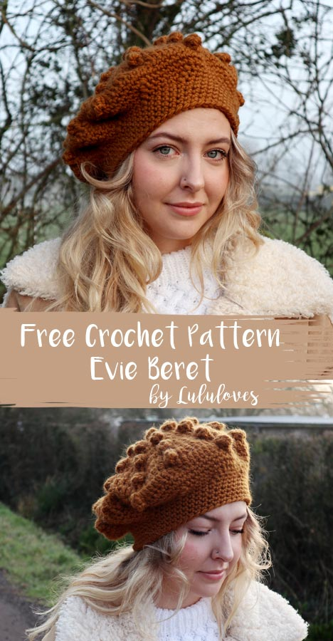Free Crochet Beret Pattern | Lululoves Blog