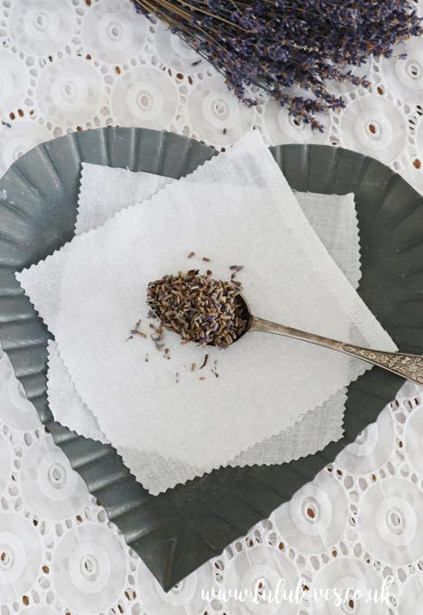 Free Crochet Pattern - Lavender Sachets | Lululoves Blog