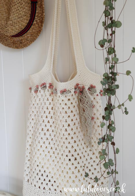 Free Crochet Market Bag Pattern | Lululoves Crochet Blog