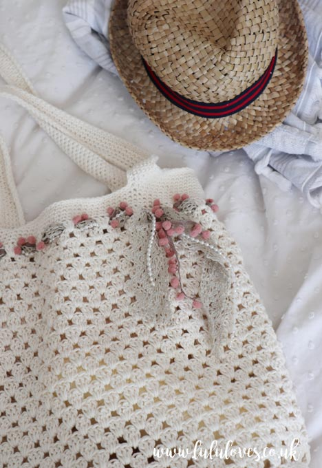Crochet Market Bag Pattern | Lululoves Blog