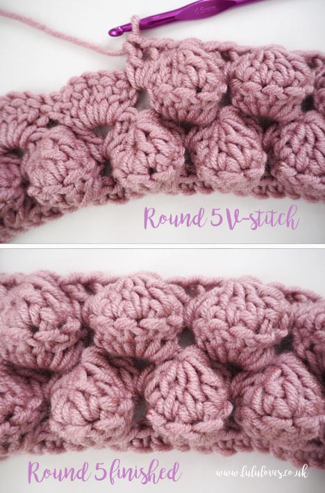 Lululoves: Free crochet pattern Giant Bobble Cowl