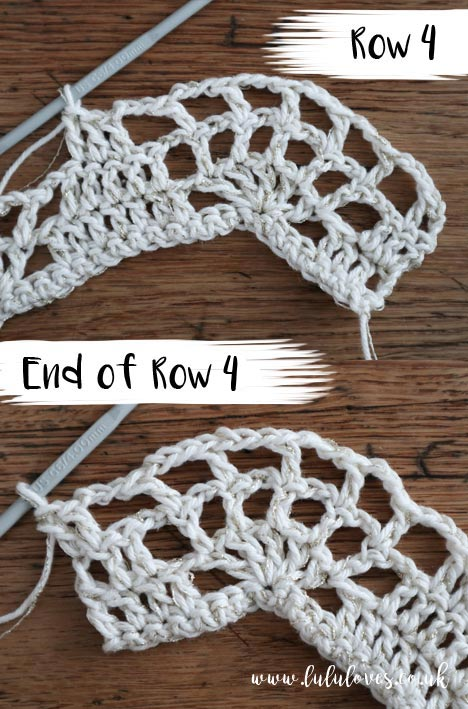 Free Crochet Pattern - Halloween Web Collar | Lululoves Blog