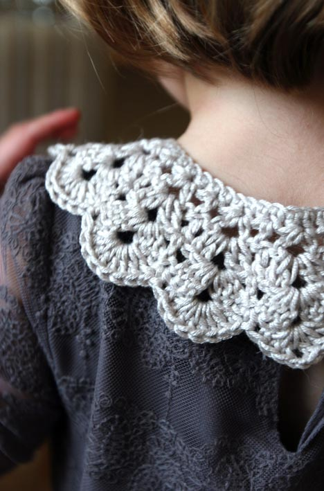 Free Crochet Collar Pattern Lululoves Blog