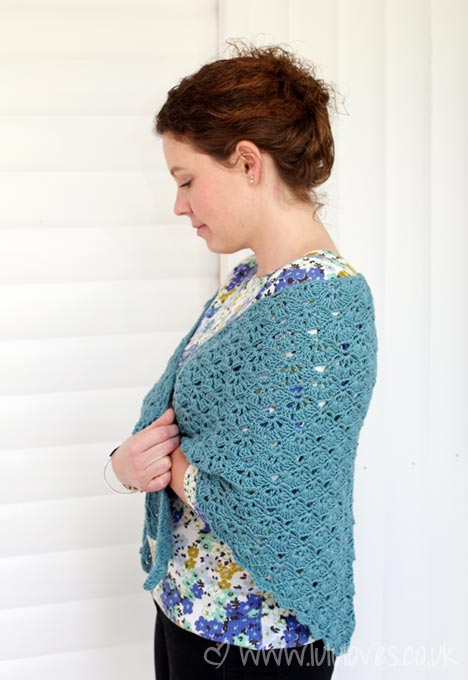 Crochet Shawl - Lululoves