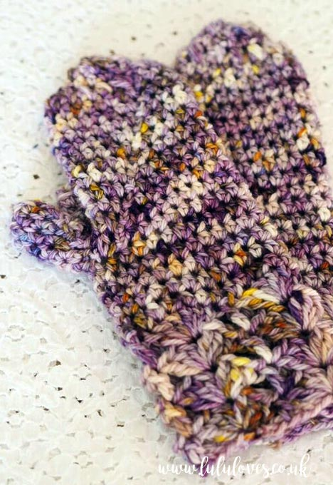 Lululoves Crochet Mittens